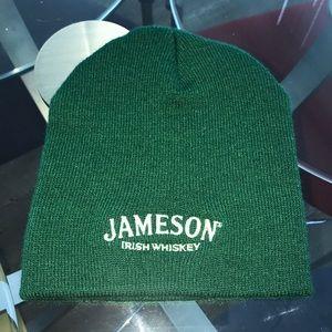 Brand new green Jameson Irish whisky unisex beanie